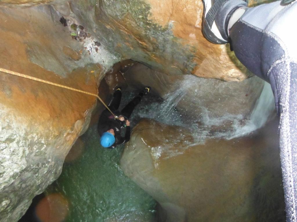 Canyon de pierrefeu dans la vallée de l'esteron