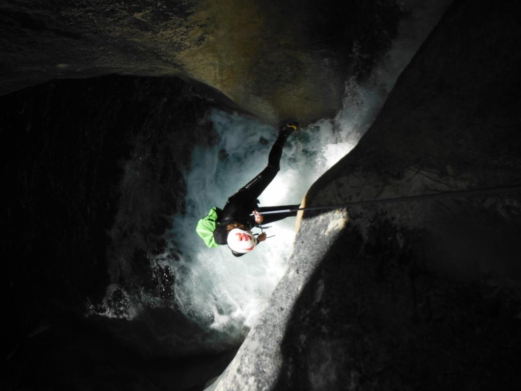 canyoning de La Maglia