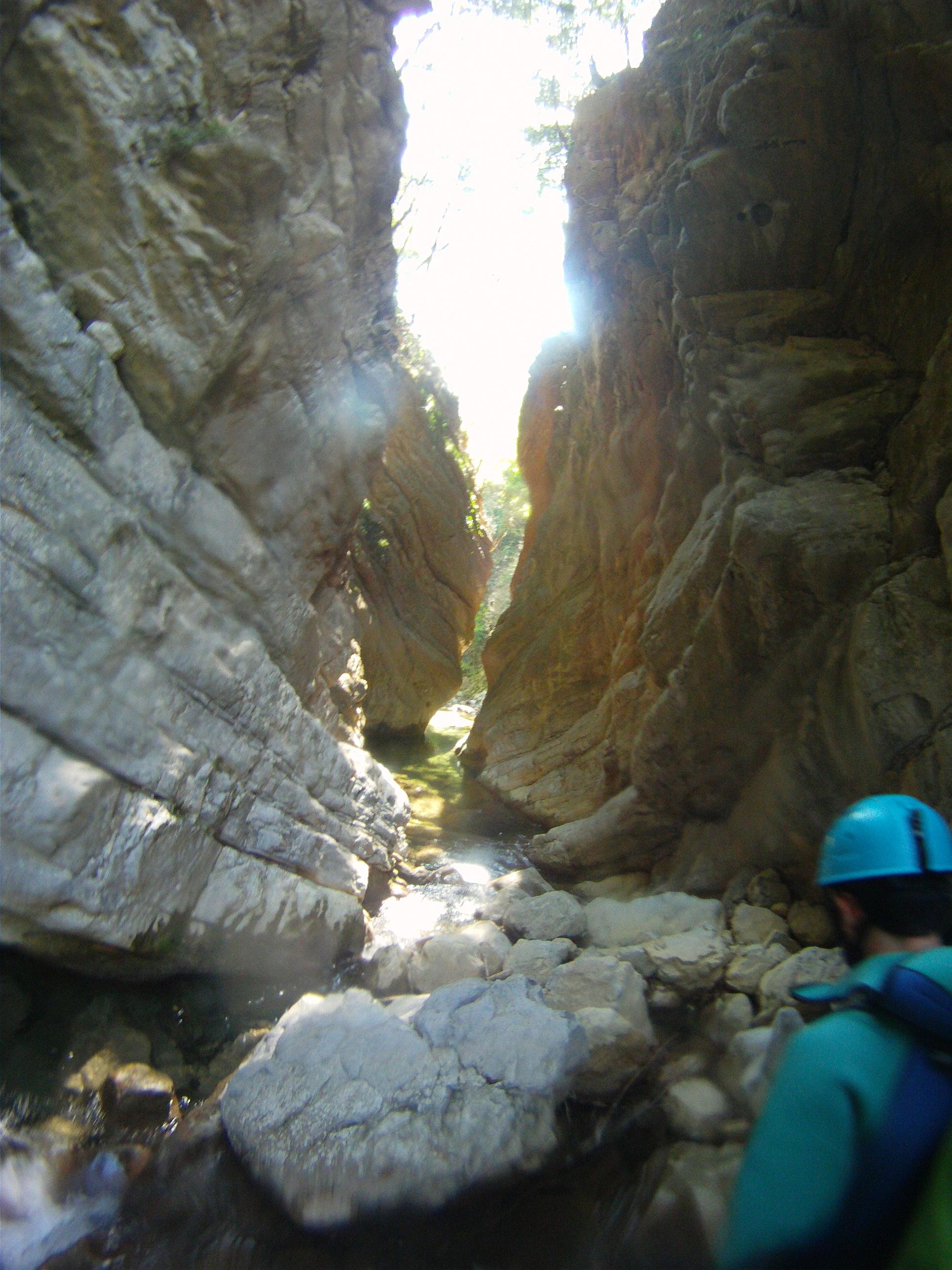 Canyoning de Carleva dans la Roya